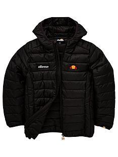 ellesse-older-girls-valentina-padded-zip-jacket-black