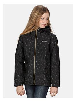 regatta-regatta-girls-brina-leopard-print-waterproof-jacket
