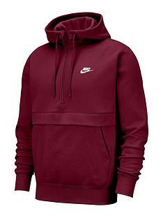 nike-club-12-zip-hoodie-burgundy