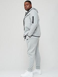 nike-plus-size-tech-fleece-pants-dark-grey