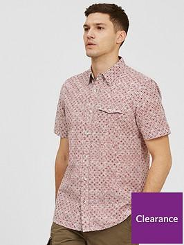 fatface-arun-print-short-sleeve-shirt-red