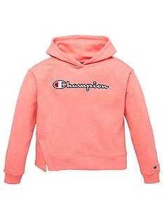 champion-girls-hooded-sweatshirt-pink