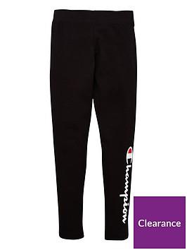 champion-girls-leggings-black