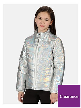 regatta-regatta-girls-junior-freezeway-ii-holographic-insulated-padded-jacket