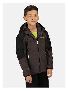 regatta-childrensnbspvolcanics-iv-waterproof-jacket-greyblack
