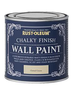 rust-oleum-chalky-finish-125-ml-wall-paint-ndash-clotted-cream