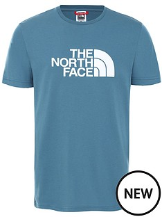 the-north-face-short-sleevenbspeasy-t-shirt-blue