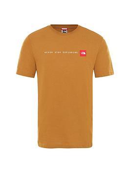 the-north-face-short-sleevenbspnever-stop-exploring-t-shirt-tan
