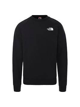 the-north-face-raglan-redbox-crew-blackred