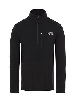the-north-face-glacier-pro-14-zip-fleece-black