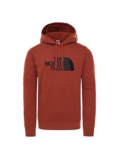 the-north-face-drew-peak-pullover-hoodie-brown