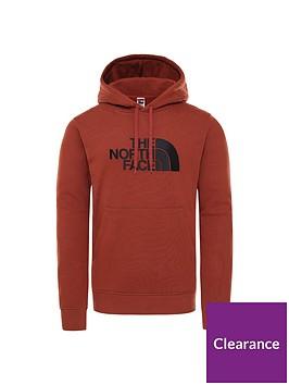 the-north-face-drew-peak-pullover-hoodie-brown