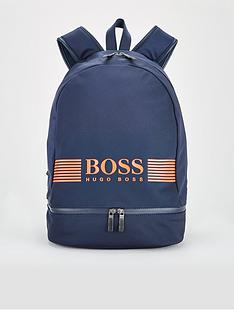boss-pixel-logo-backpack-navy