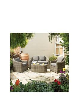 Rowlinson Rowlinson Bunbury Sofa Set Natural Weave Picture