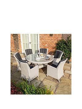 Rowlinson Rowlinson Prestbury 6 Seater Dining Set Picture