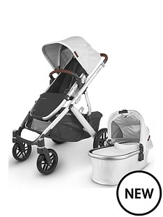 uppababy-vista-pushchair-carrycot-seat-unit-rainshields-sun-shades-insect-nets