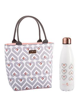 Beau & Elliot   Vibe Insulated Lunch Tote With 500Ml Stainless Steel Drinks Bottle