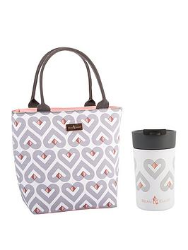 Beau & Elliot   Vibe Insulated Lunch Tote With 300Ml Travel Mug
