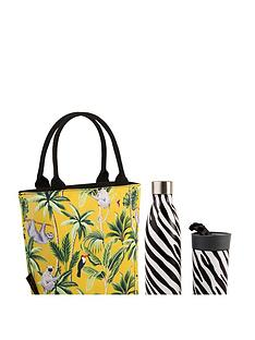 summerhouse-by-navigate-madagascar-insulated-lunch-tote-sloth-mustard-plus-stainless-steel-drinks-bottle-amp-travel-mug