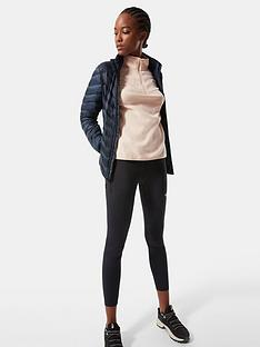 the-north-face-100-glacier-14-zip-pink