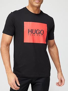 hugo-dolive-u204-box-logo-t-shirt-blacknbsp