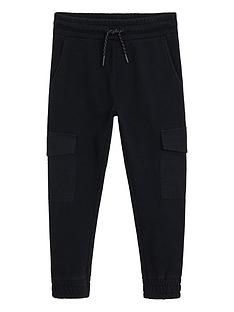 mango-boys-side-pocket-joggers-black