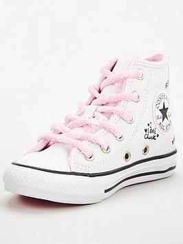 converse-chuck-taylor-all-star-hi-panda-notes-from-bffnbspjunior-trainers-whiteblackpink