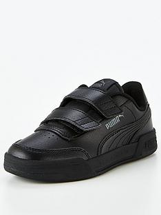 puma-caracal-v-childrens-trainers-black
