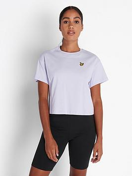 lyle-scott-crop-t-shirt-lilac