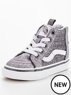 vans-sk8-hi-glitter-infant-trainer-greywhite