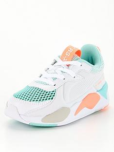 puma-rs-x-soft-case-childrens-trainers-white-multi
