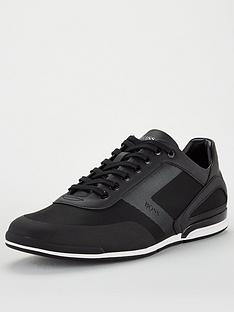 boss-saturn-low-mesh-trainers-black