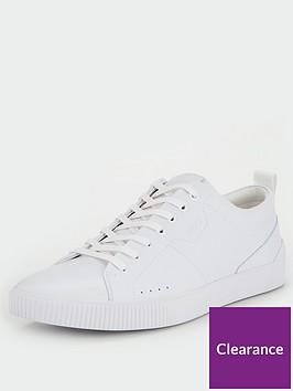 hugo-zero-ten-leather-trainers-white