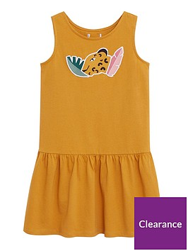 mango-girls-jungle-jersey-sleeveless-dress-mustard