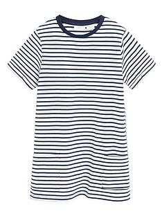 mango-girls-stripe-jersey-short-sleeve-dress-navy