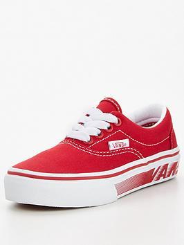 vans-era-racers-edge-childrens-trainer-redwhite
