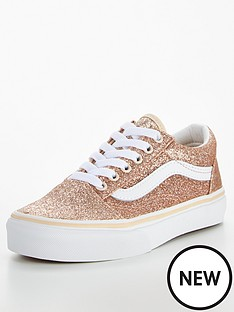 vans-old-skool-glitter-childrens-trainer-goldwhite