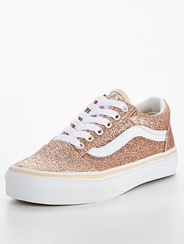 vans-old-skool-glitter-childrens-trainer-goldwhite