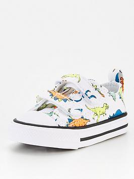 converse-chuck-taylor-all-star-2v-ox-dinoverse-infant-white-multi