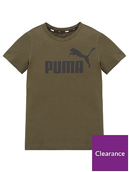 puma-essentials-logo-t-shirt-green