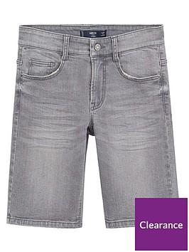 mango-boys-straight-denim-shorts-grey
