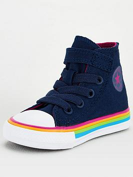 converse-chuck-taylor-all-star-hi-1v-infant-trainers-navywhite
