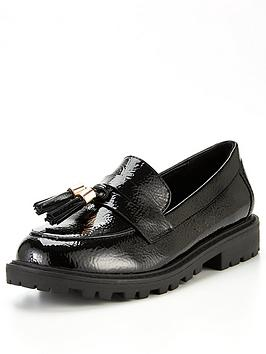 river-island-girls-tassel-loafer--black