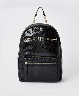 river-island-rir-patent-bts-backpack