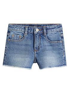 mango-girls-frayed-hem-denim-shorts-mid-blue