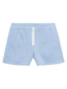 mango-girls-jog-shorts-light-blue