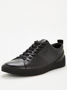 hugo-zero-ten-leather-trainers