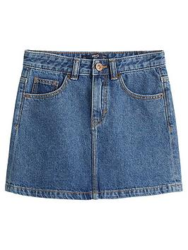 mango-girls-denim-skirt-mid-blue