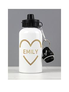 the-personalised-memento-company-personalised-gold-heart-drinks-bottle