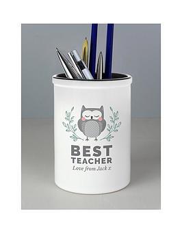 personalised-thank-you-teacher-pen-pot